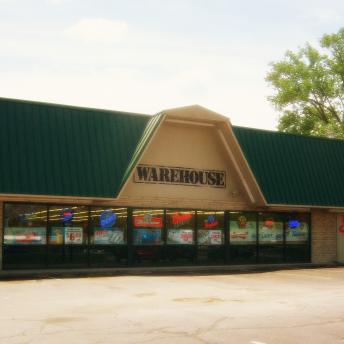Warehouse Liquor Mart located in Carbondale, Il