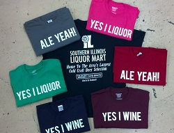 T-Shirts-at-SI-Liquor-Mart